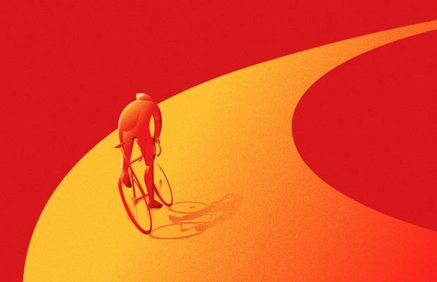 McDonald's Perú Celebrates World Bicycle Day with Art Deco-Inspired Illustrations