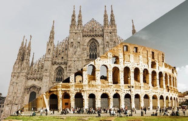 Milan To Rome >> Milan Vs Rome A Creative Showdown Lbbonline