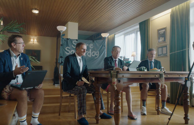 Paddy Power Gets Axed 'Pundits' Back Together for Hilarious Sitcom Series