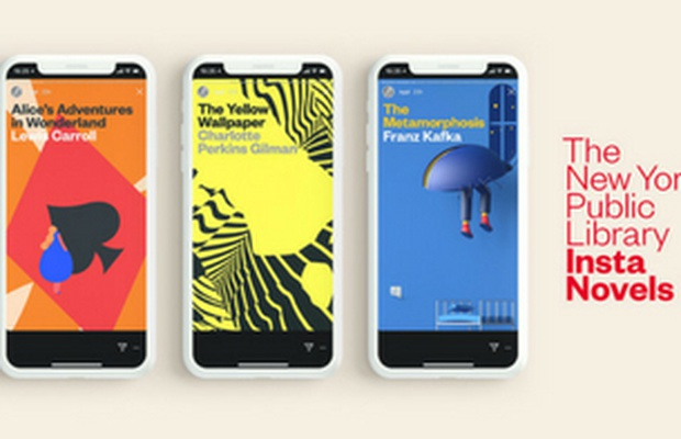 Insta Portable Exhibition Kit : The new york public library insta novels reimagines the act of