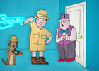 Nexus Studios' Felix Massie Recreates 70s Cartoon Mr Benn for The Insurance Emporium