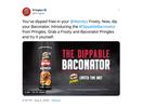 Pringles Baconator Crisps Explode on Twitter via Grey New York