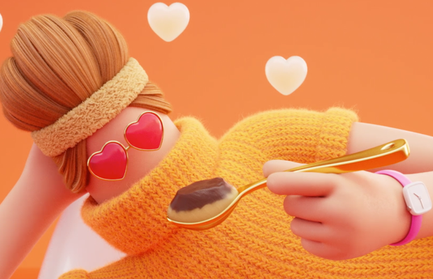 Desserts You Love Are Made to be Spooned in Animated Colliders Spot
