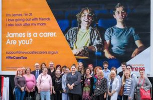 Newcastle Carers' #Wecaretoo Campaign Targets Young Adult Unpaid Carers