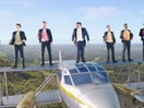 Go Compare's Gio Surfs The Sky to Highlight How We Can Keep Our Bills Low