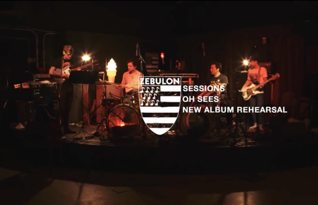 Brian Lee Hughes Directs Oh Sees' Latest Album Sessions at Zebulon