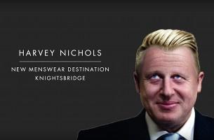 Harvey Nichols Sharpens Up the Frumpy Fashion of Great Men