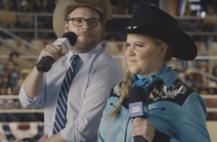 Amy Schumer & Seth Rogen Help America See the Light in Bud Light Super Bowl Ad