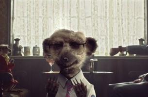 Manners Maketh Meerkat in New Kingsman comparethemarket.com Ad