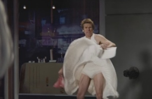 Willem Dafoe is Marilyn Monroe in SNICKERS' Super Bowl 50 Spot