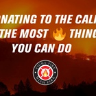ALMA Fights Fire with Fire to Raise Money for California Wildfire Aid