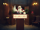 Santa Has an Urgent Message for the British Public in Tongue-in-Cheek Campaign