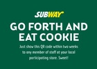 McCann London and SUBWAY Bring Digital Cookies Into the Real World