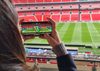 Play 5G Foosball with Legends at Wembley Stadium with EE's First Ever AR Foosball Tournament