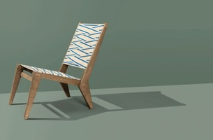 Your Shot: HORNBACH's Affordable Lounge Chair that You Have to Build Yourself
