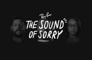 Emotive Digital Ray-Ban Experience Lets You Sing the Sound of Sorry