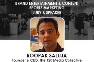 Roopak Saluja Joins Cristal Festival 2015 Jury