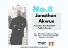 Publicis Groupe's Jonathan Akwue Recognised as Top BAME Leader in Tech