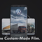 Volkswagen Trucks Launches Film That Changes According to How You Want to Watch It