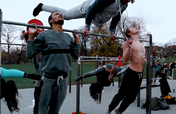 Charity Steel Warriors Turns Confiscated Knives into Outdoor Community Gyms