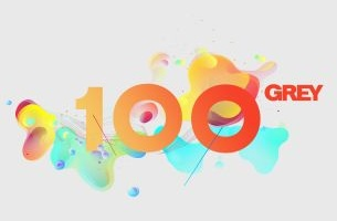 Grey Celebrates 100 Years with New Logo to Celebrate their History of Creativity