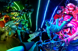 Ravers Experience the Ultimate Zero Gravity Bass Drop with Desperados
