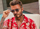 David Beckham Channels the Spirit of Miami to Launch New Eyewear Collection