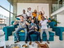 EE Unveils World's First Three Tier Sofa Inspired by Wembley Stadium