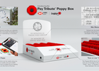 The Royal Canadian Legion and HSBC Bank Give Iconic Poppy Box a Modern Makeover