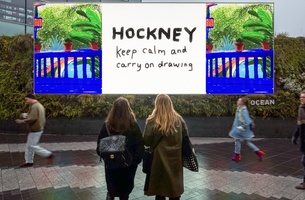 Ocean Outdoor and Posterscope Collaborate with Tate Britain on Largest Digital Canvas