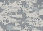 AT&T Prints Veteran's 'Invisible' Résumés on Camouflage for Veteran's Day