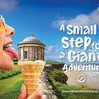 BBDO Dublin Turns a A Step into a Giant Adventure with Tourism Northern Ireland
