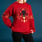 Finnish Newspaper Makes Christmas Sweaters Depicting the Year's Ugliest News