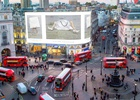 Victoria Beckham Live Streams London Fashion Week Show on Piccadilly Lights