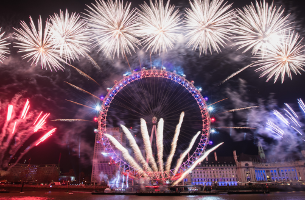 Jack Morton Creates the Spectacular London New Year's Eve Firework Display