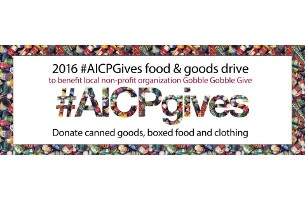 AICP GIVES Launches 5th Annual Donations Drive in Los Angeles & New York