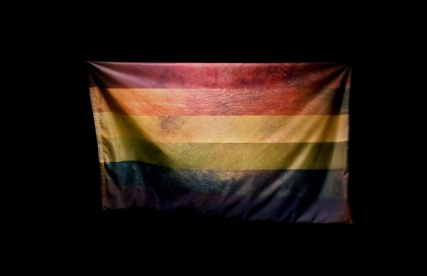 Pride Flag Is Reimagined with Images of Real Wounds and Bruises Sustained by Victims of Hate Crime