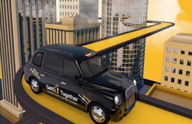 St Luke's Unveils First Work For Car-Sharing Service Gett