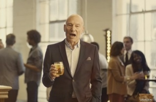 Sir Patrick Stewart Gets the Shaft Again in Droga5's New Strongbow Spot