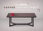 NESCAFÉ Just Made a Coffee Table Out of Coffee Grounds