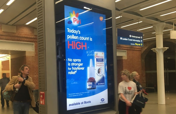 GSK Launches UK's First Fully Automated Digital OOH