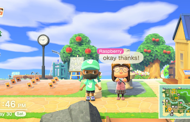 Deliveroo Makes a Special Delivery to Animal Crossing
