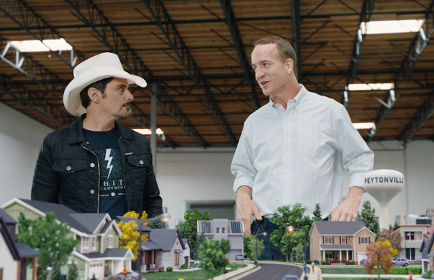 Nationwide Protect Peyton Manning's 'Peytonville' in Ogilvy Campaign