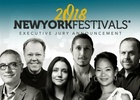 14 Additional Executive Jury Members Join New York Festivals 2018 Event