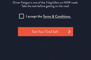 Transport for NSW Launches New 'Test Your Tired Self' App