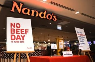 Nando's Singapore Creates #NOBEEFDAY for Trump-Kim Summit