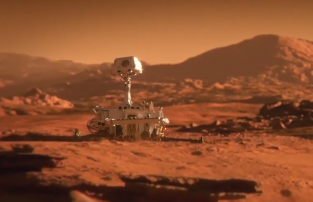 Mars Rover is Feeling Lonely in This Global Spot for Saint-Gobain