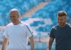Zidane and Beckham Pay Tribute to Each Other in New adidas Films