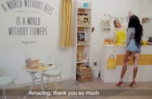 Burt's Bees Stage Vanishing Flower Shop Pop-Up Prank To Help Save British Bees