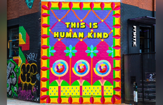 British Red Cross and Yinka Ilori MBE Drive Kindness Forward with 'This Is Human Kind' Mural